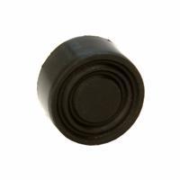 Black Rubber Push Button